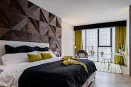 modern Bedroom by NIVEL TRES ARQUITECTURA