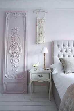 Projekty,  Sypialnia zaprojektowane przez Sweetpea and Willow® London Ltd