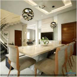 Traditional Treat: classic Dining room by Premdas Krishna
