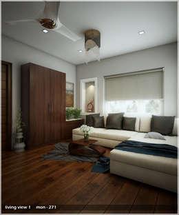 Bright and Energetic Design: classic Living room by Premdas Krishna
