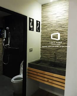 Baños de estilo  por BEYOND HOME (THAILAND) Co.,Ltd