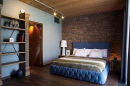 Загородный дом: Спальни в . Автор – Архитектурная студия Чадо