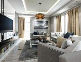 modern Living room by VERO CONCEPT MİMARLIK