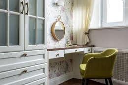 Projekty,  Sypialnia zaprojektowane przez N-HOME   Ната Хатисашвили