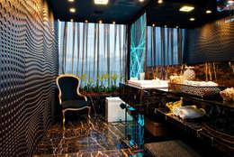 Projekty,  Łazienka zaprojektowane przez Haifatto Arq + Decor