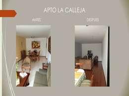 Sala Comedor:  de estilo  por Erick Becerra Arquitecto