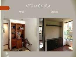 Closets:  de estilo  por Erick Becerra Arquitecto