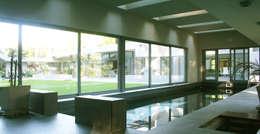 CASA en SAN DIEGO: Piletas de estilo moderno por MZM   Maletti Zanel Maletti arquitectos