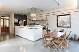 Trace House : 미우가 디자인 스튜디오의  다이닝 룸