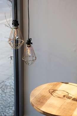 Cooles caf im modernen industrial style for Moderne schaufenstergestaltung