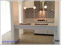 Diseño de cocina:  de estilo  por Design For You SAS