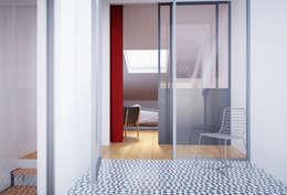 Projekty,  Sypialnia zaprojektowane przez ASVS Arquitectos Associados
