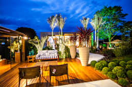 Paisagismo: Jardins ecléticos por Amanda Diniz Arquitetura & Interiores