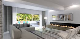moderne Wohnzimmer von Principia Design