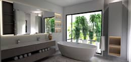 House St Andrews: modern Bathroom by Principia Design