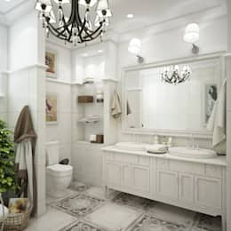 Baños de estilo clásico por Interior designers Pavel and Svetlana Alekseeva