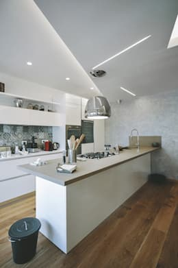 Una ristrutturazione moderna per una famiglia giovane - Ristrutturazione cucina roma ...