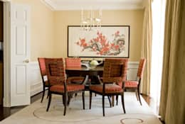 Shanghai Chic - Dining Room: asian Dining room by Lorna Gross Interior Design