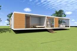 CASA PANTOJA + MASSONE: Casas de estilo moderno por Arc Arquitectura