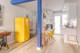 modern Kitchen by Luzestudio Fotografía
