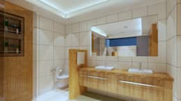 Projekty,  Łazienka zaprojektowane przez CouturierStudio