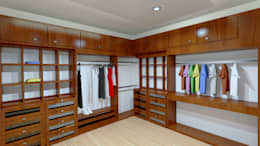 modern Dressing room by CouturierStudio
