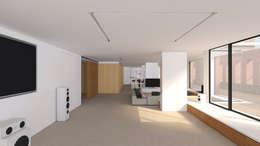 Phòng giải trí by A2 arquitectura interior