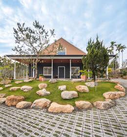 游宅:  房子 by 七澄建築有限公司