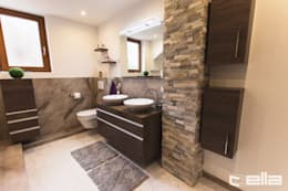 Banheiros modernos por Cella GmbH