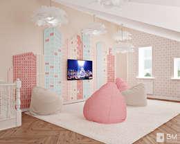 Дизайн таунхауса в классическом стиле: Детские комнаты в . Автор – GM-interior