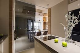 modern Kitchen by 賀澤室內設計 HOZO_interior_design