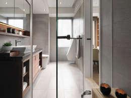 Phòng tắm by 大觀室內設計工程有限公司