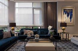 غرفة المعيشة تنفيذ 大觀室內設計工程有限公司