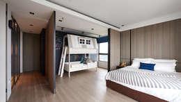 林口楊宅:  嬰兒/兒童房 by 大觀室內設計工程有限公司
