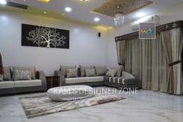 Living Room Design: modern Living room by KAM'S DESIGNER ZONE