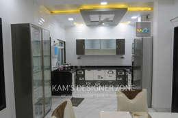 Kitchen Interior Design: modern Kitchen by KAM'S DESIGNER ZONE