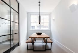 Newly Completed Installation - Exceptional Design : minimalistic Dining room by PTC Kitchens