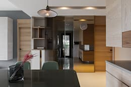 eclectic Kitchen by 賀澤室內設計 HOZO_interior_design