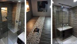 Phòng tắm by Lesmes y Sarmiento | Remodelaciones | Decoración y Diseño Interior | Arquitectura