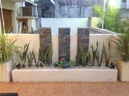 Jardines de estilo moderno por DOMOS DECORACION HOLISTICA