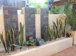 Projekty,  Ogród zaprojektowane przez DOMOS DECORACION HOLISTICA