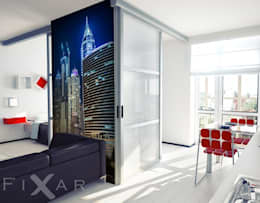 modern Living room by Fixar