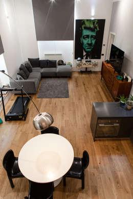 Projekty,  Salon zaprojektowane przez Easy Relooking