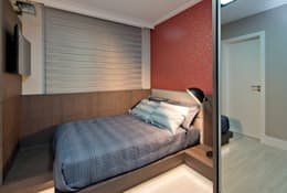 modern Bedroom by Kris Bristot Arquitetura