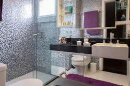 eclectic Bathroom by Espaço Alessandra Luz Casa & Jardim