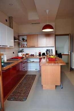 Prima e dopo una cucina rinnovata cambiando solo la - Rinnovare i mobili della cucina senza cambiarla ...