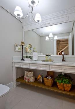 浴室 by Kris Bristot Arquitetura