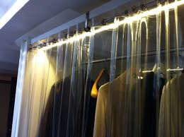 industrial Dressing room by ibedi laboratorio di architettura