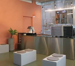 <카페몰리>: marcil studio의  상업용 공간