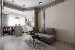 scandinavian Living room by 思為設計 SW Design